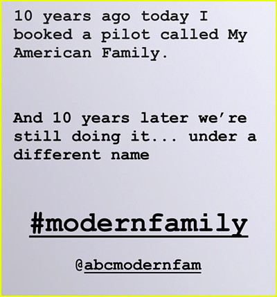Modern Family Photos, News, and Videos | Just Jared Jr  | Page 2