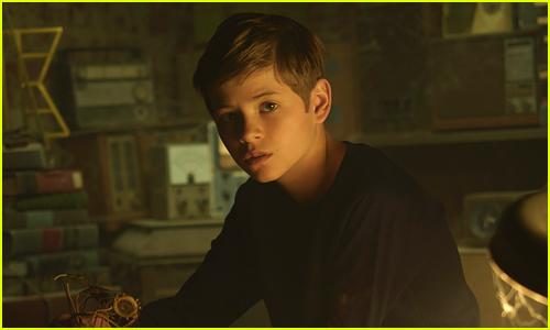 Preston Oliver as Griffin in Secrets of Sulphur Springs