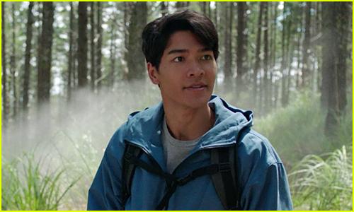Kai Moya stars as Blue Ranger