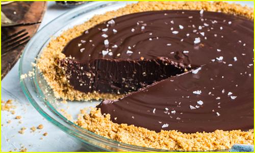 Eitan Bernath's Chocolate Ganache Pie