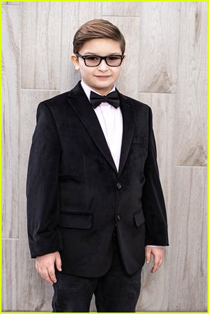 Ryder Allen poses for Critics Choice Awards