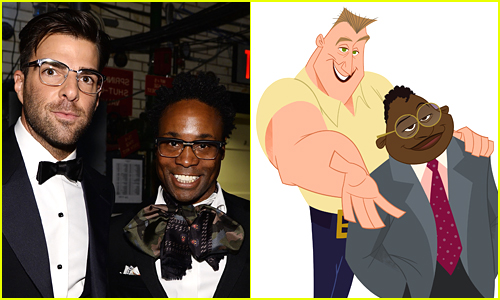 Zachary Quinto and Billy Porter's Proud Family Characters