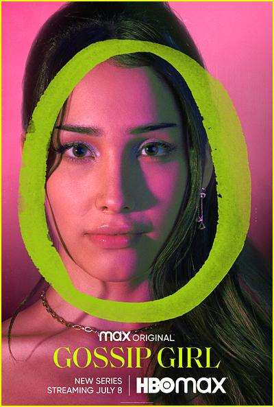 Zion Moreno Gossip Girl Character Poster