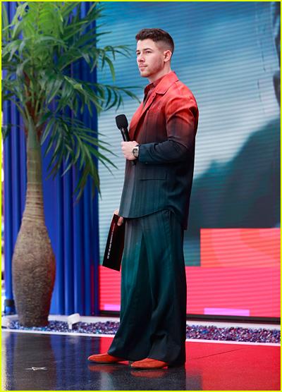 Nick Jonas hosting the Billboard Music Awards