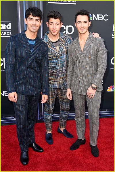 Nick Jonas on the 2019 Billboard Music Awards Red Carpet