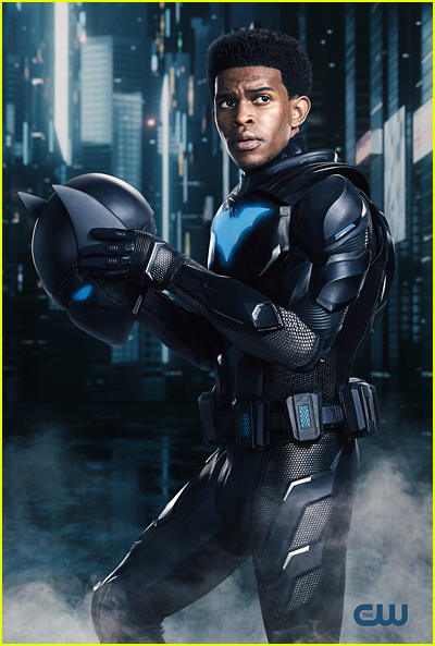 Camrus Johnson suited up as Batwing