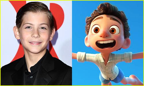 Jacob Tremblay voices Luca in Disney/Pixar's Luca