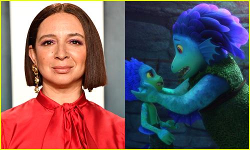 Maya Rudolph voices Luca's mom in Disney/Pixar's Luca