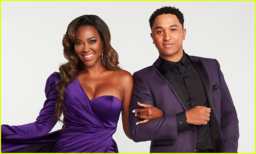 Kenya Moore & Brandon Armstrong coupled up on DWTS