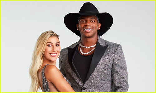 Jimmie Allen & Emma Slater coupled up on DWTS