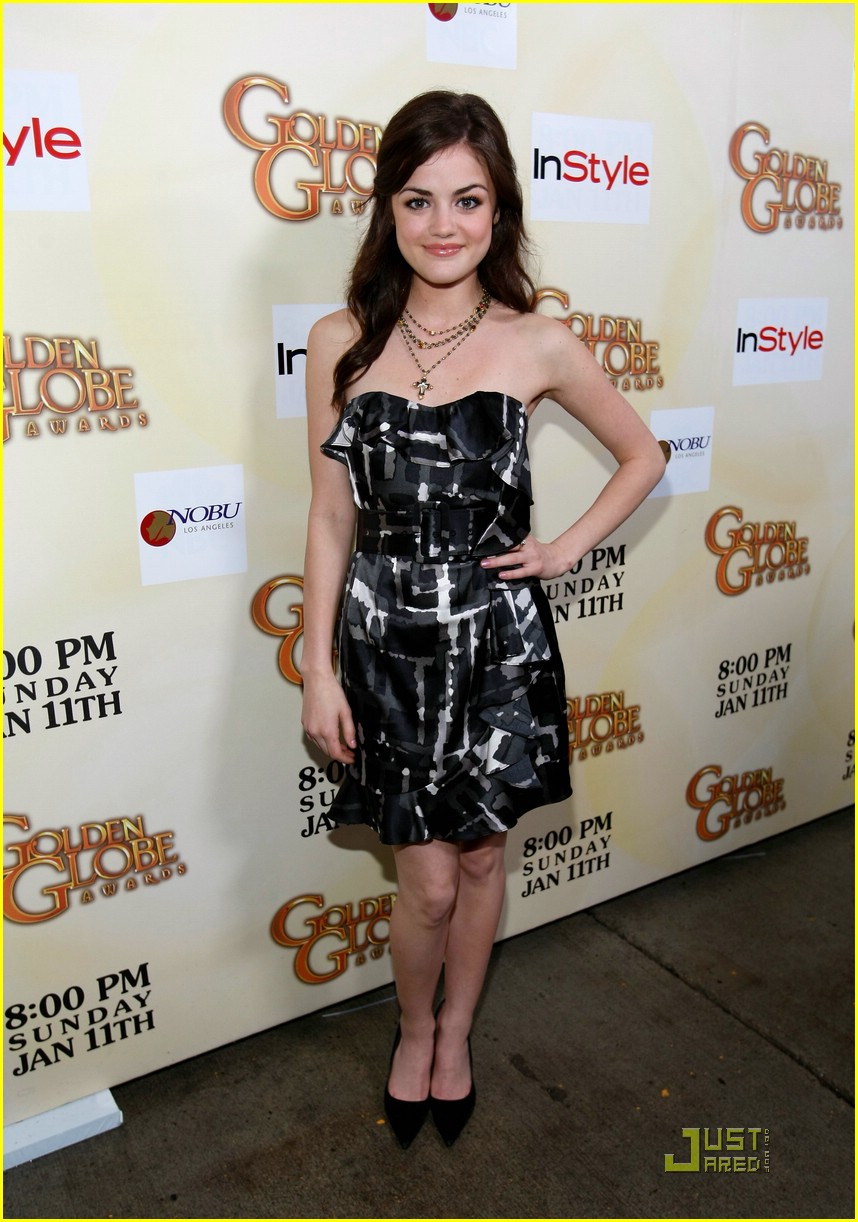 david henrie lucy hale salute hollywood 01