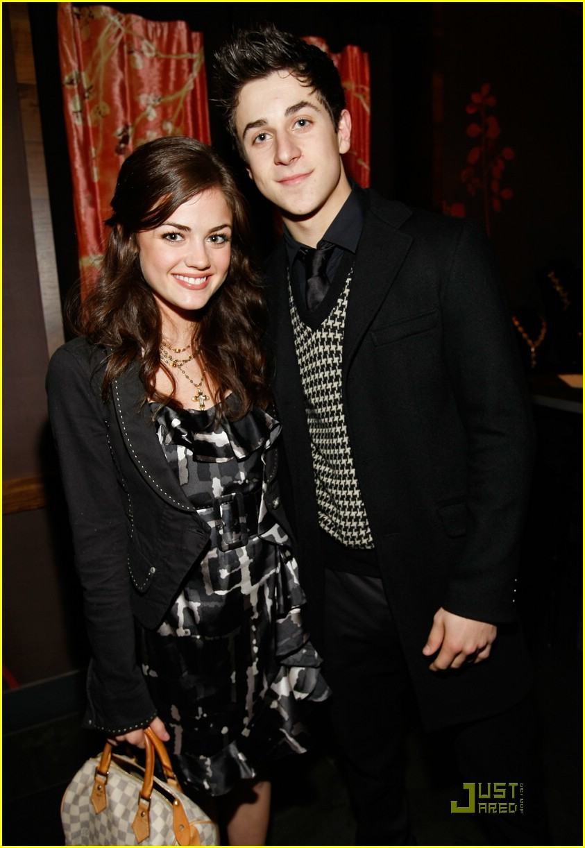 david henrie lucy hale salute hollywood 06