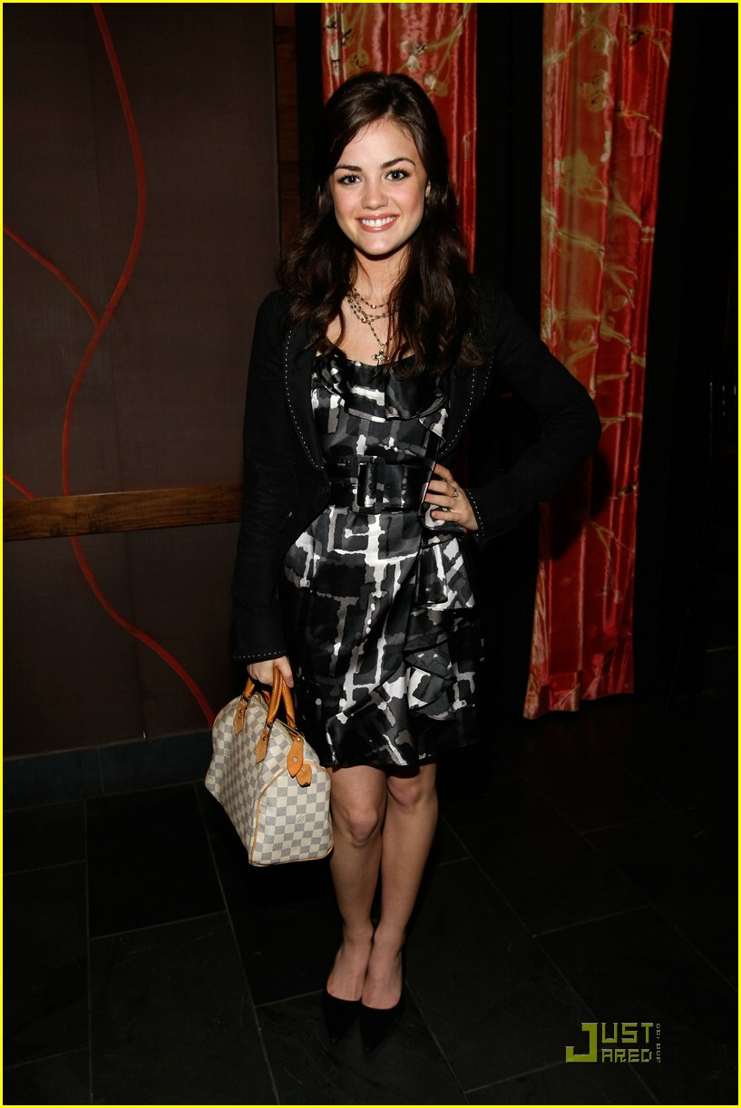 david henrie lucy hale salute hollywood 08