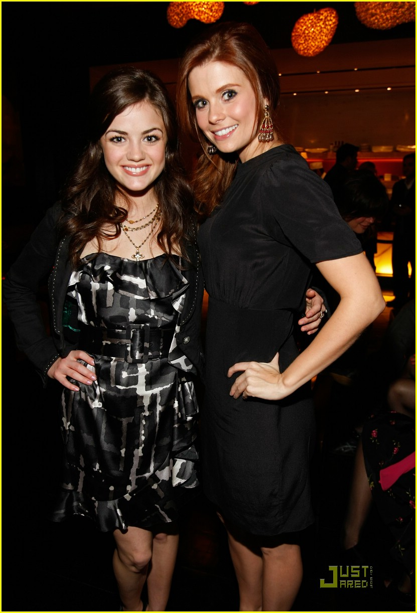 david henrie lucy hale salute hollywood 09