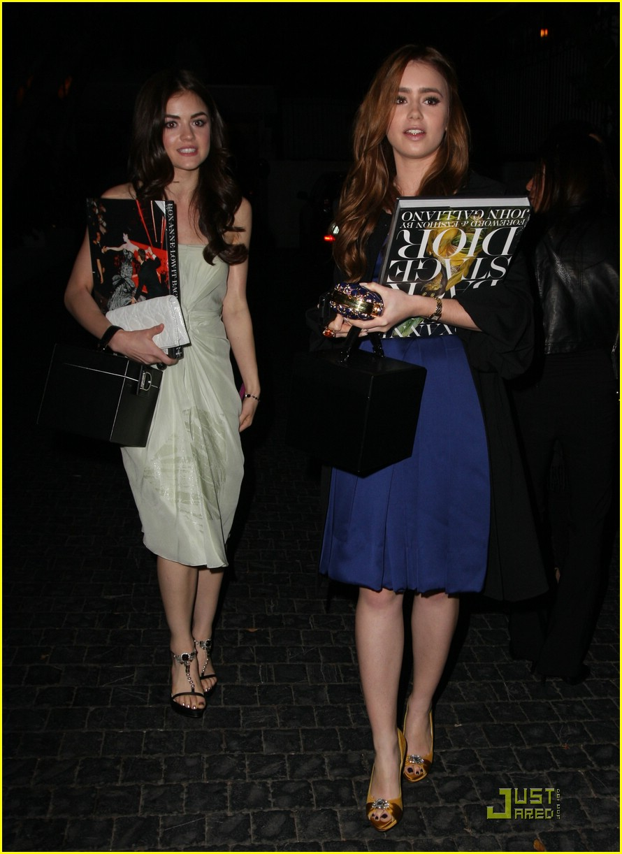 lily collins lucy hale dior 12