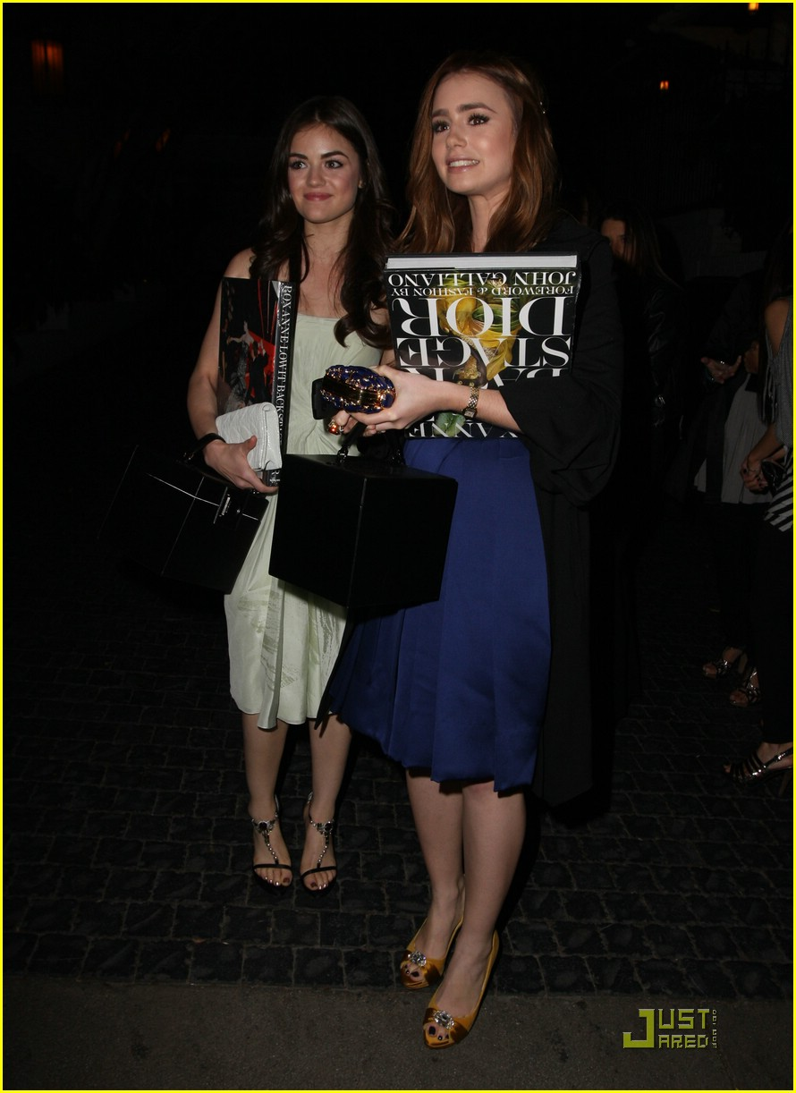 lily collins lucy hale dior 14