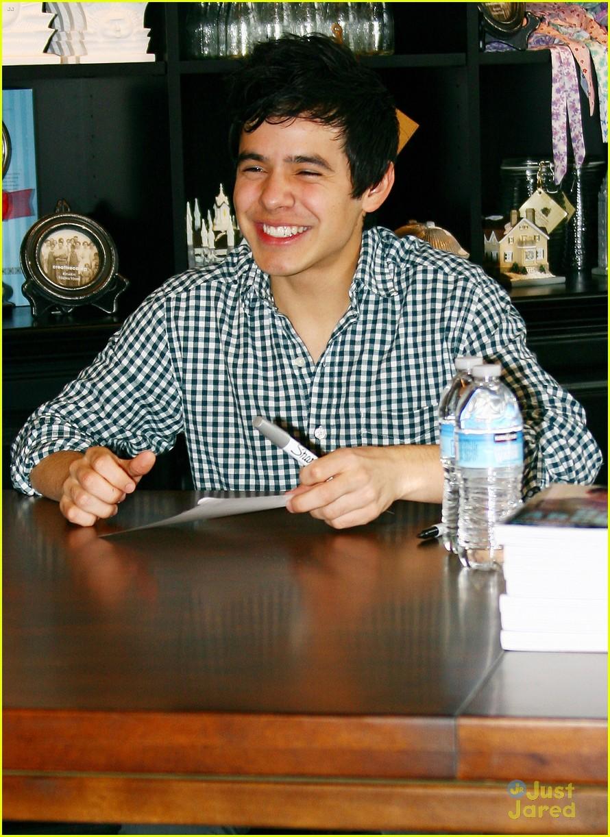 david archuleta book signing 08
