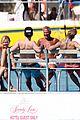 union j shirtless nathan sykes barbados beach 21