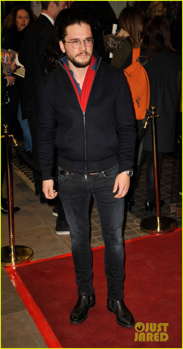kit harington jamie campbell bower have theatre night at the maids 05
