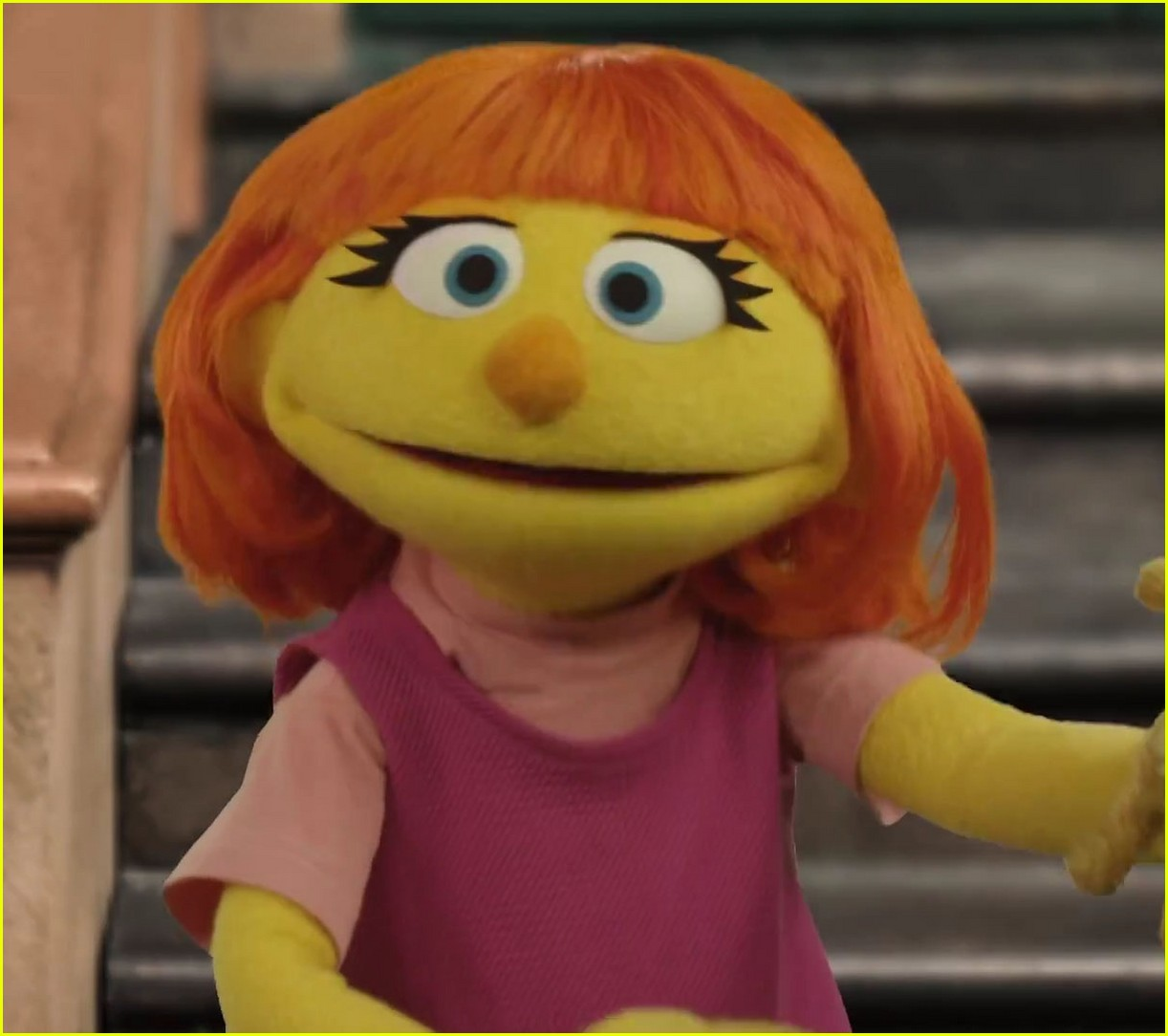 character with autism sesame street 04