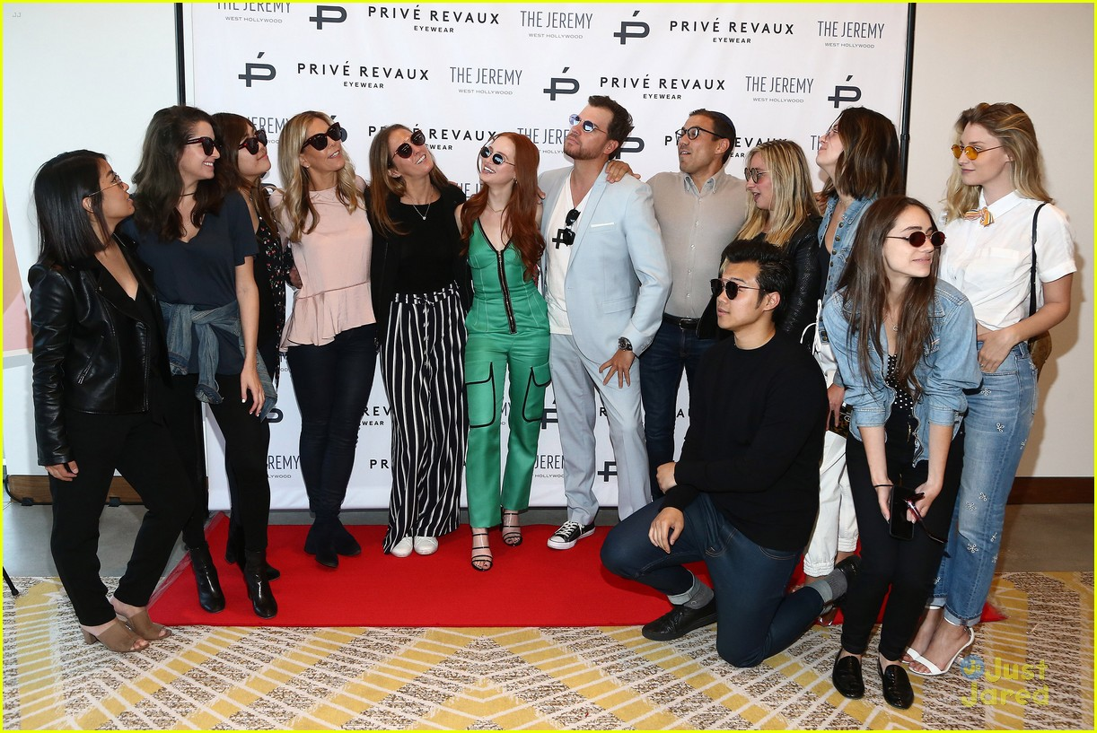 madelaine petsch new prive revaux glasses 11
