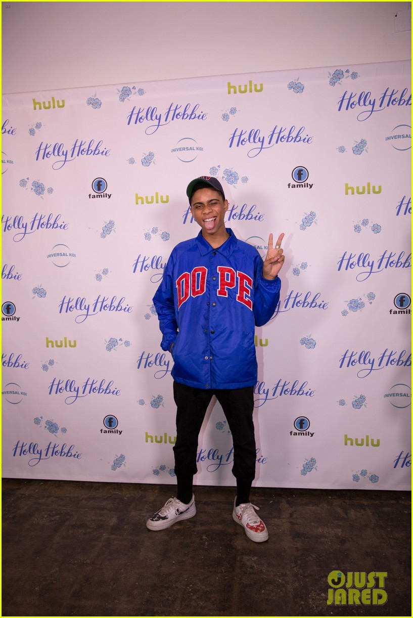 ruby jay celebrates premiere of holly hobbie 14