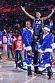lonnie chavis shows off his dancing skills at la clippers game 02