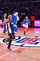 lonnie chavis shows off his dancing skills at la clippers game 03