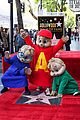 alvin and the chipmunks receive star on walk of fame 08
