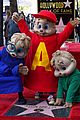 alvin and the chipmunks receive star on walk of fame 09