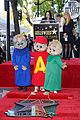 alvin and the chipmunks receive star on walk of fame 11