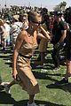 hailey bieber joins kardashian jenners at kanye wests sunday service at coachella 04
