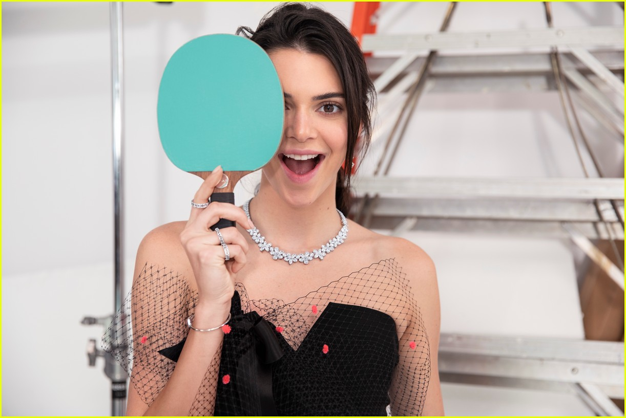 kendall jenner tiffany co campaign images 01