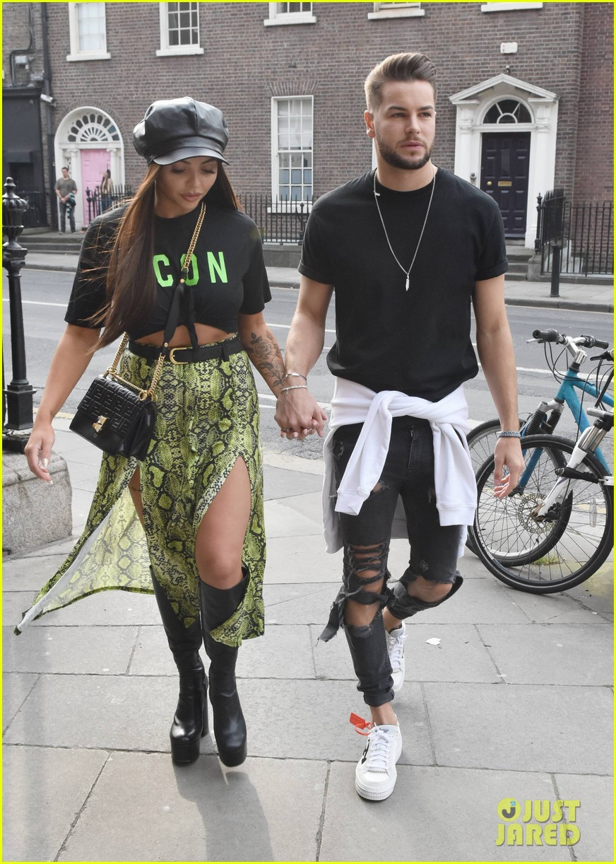 jesy nelson and boyfriend chris hughes hold hands while out in dublin 01