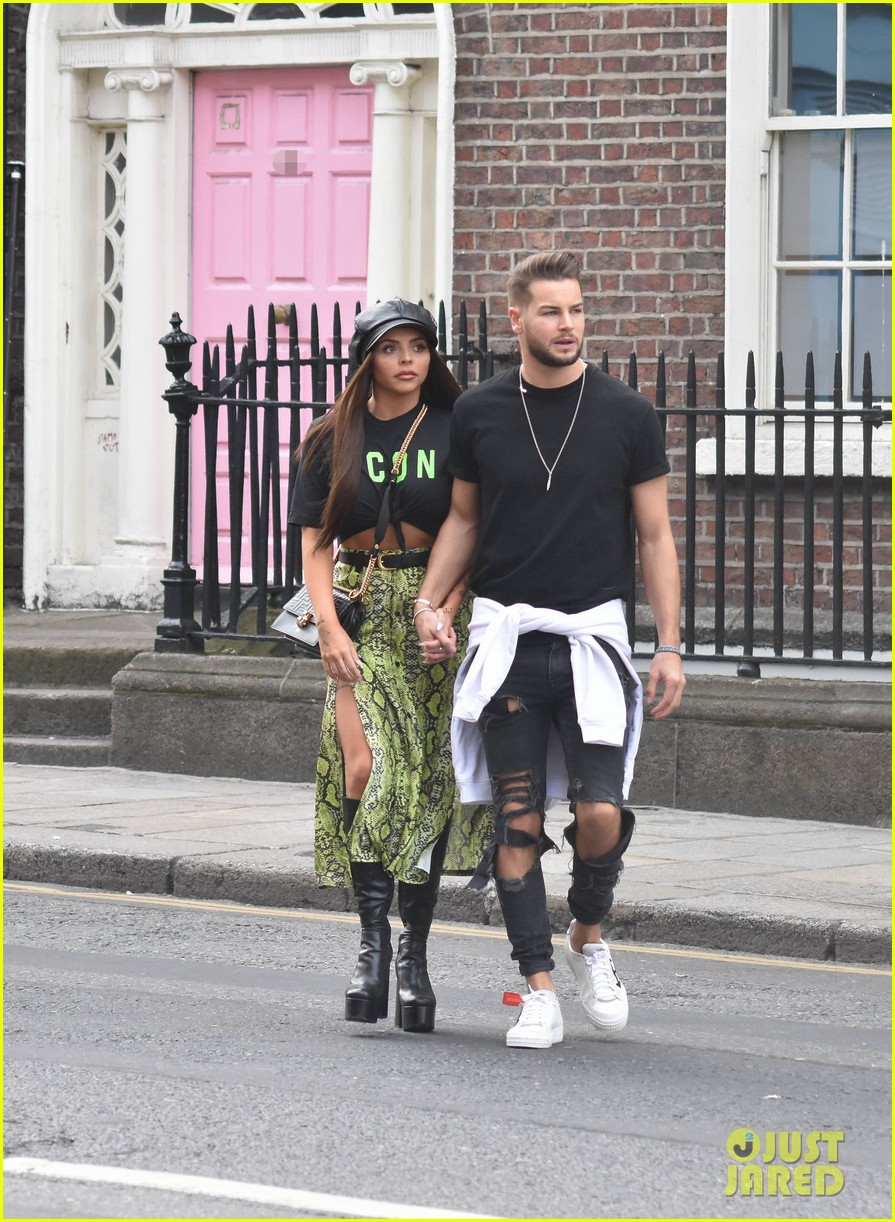 jesy nelson and boyfriend chris hughes hold hands while out in dublin 04