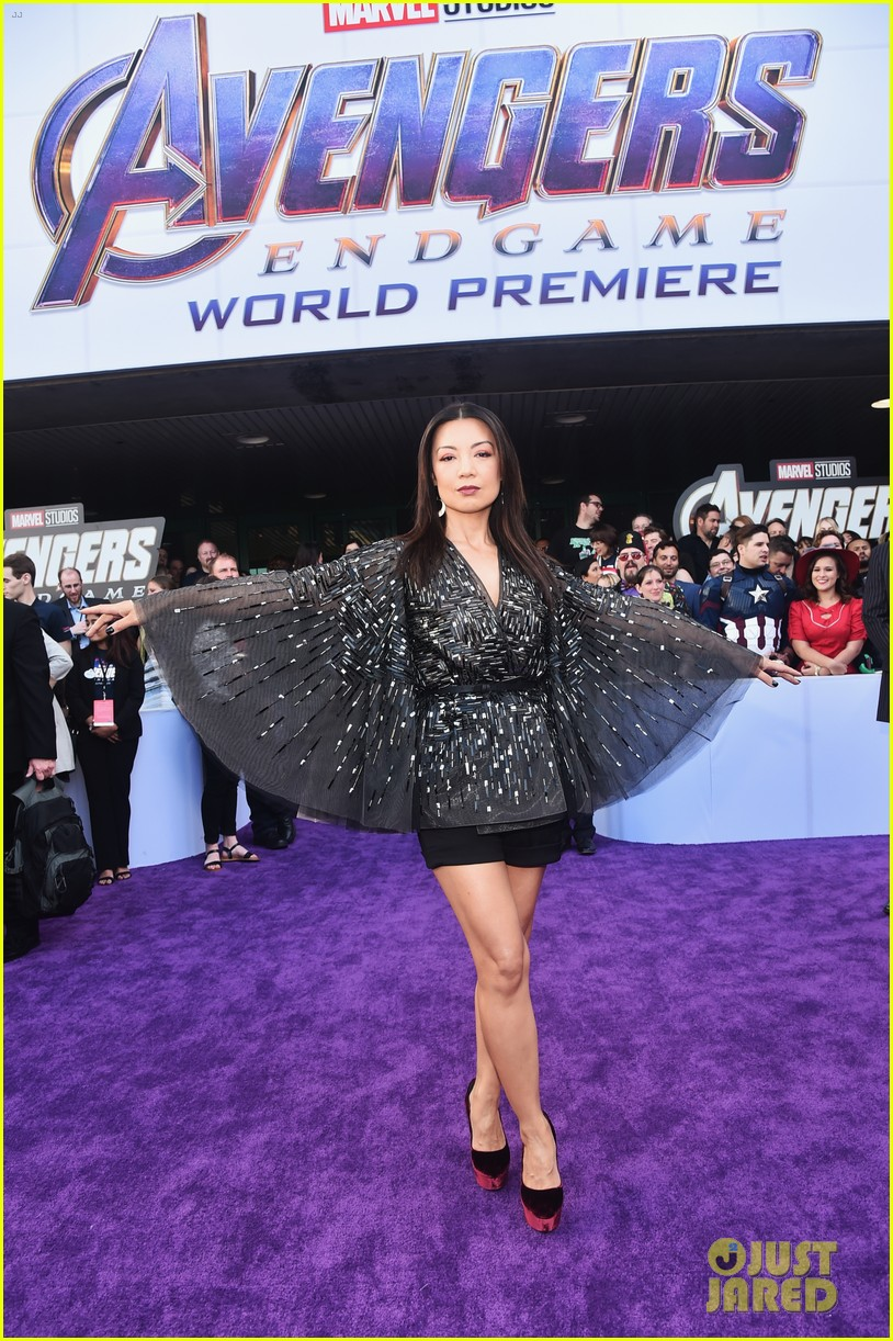 agents of shield and cloak and dagger stars avengers endgame premiere 13