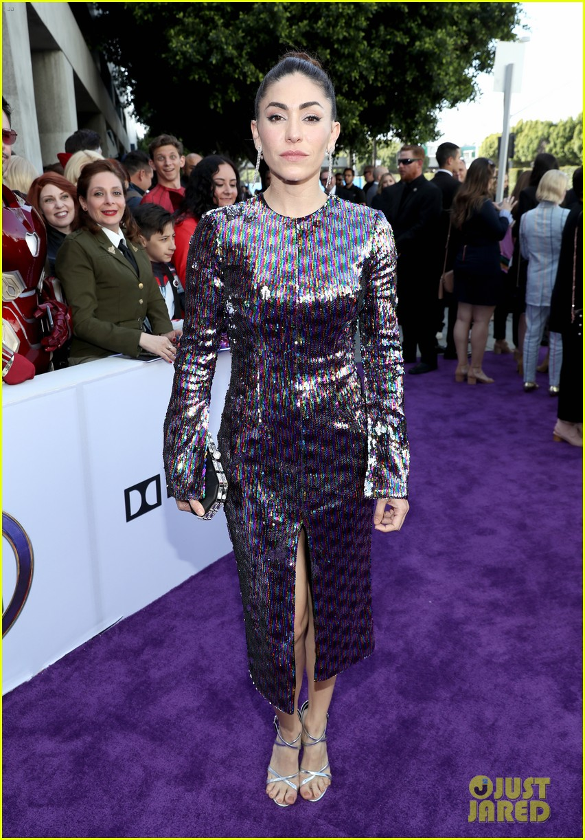 agents of shield and cloak and dagger stars avengers endgame premiere 24