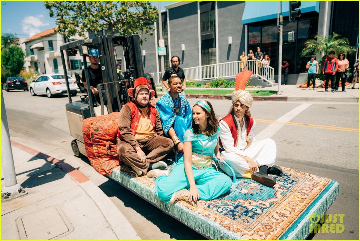aladdin cast crosswalk musical video 09