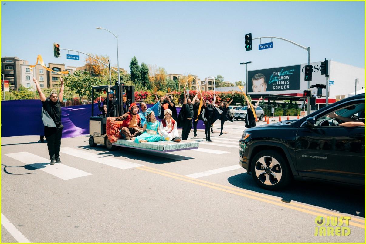 aladdin cast crosswalk musical video 10