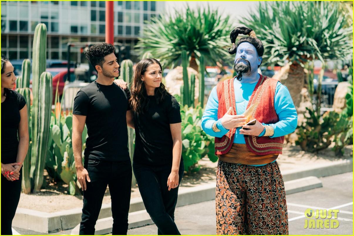 aladdin cast crosswalk musical video 13