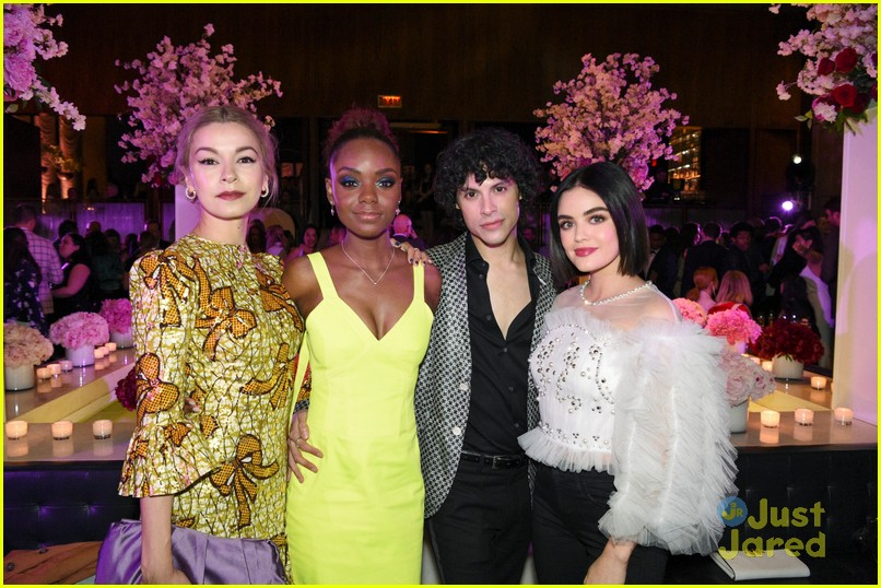 lucy hale ashleigh charmed legacies more cw after party 02