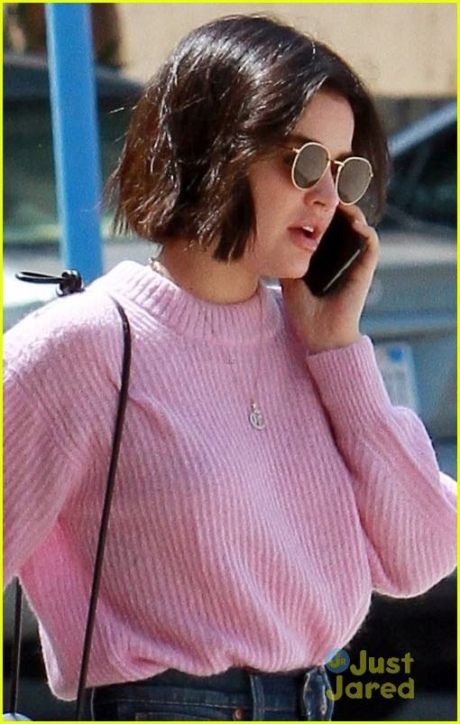 lucy hale pink sweater laws tn 03