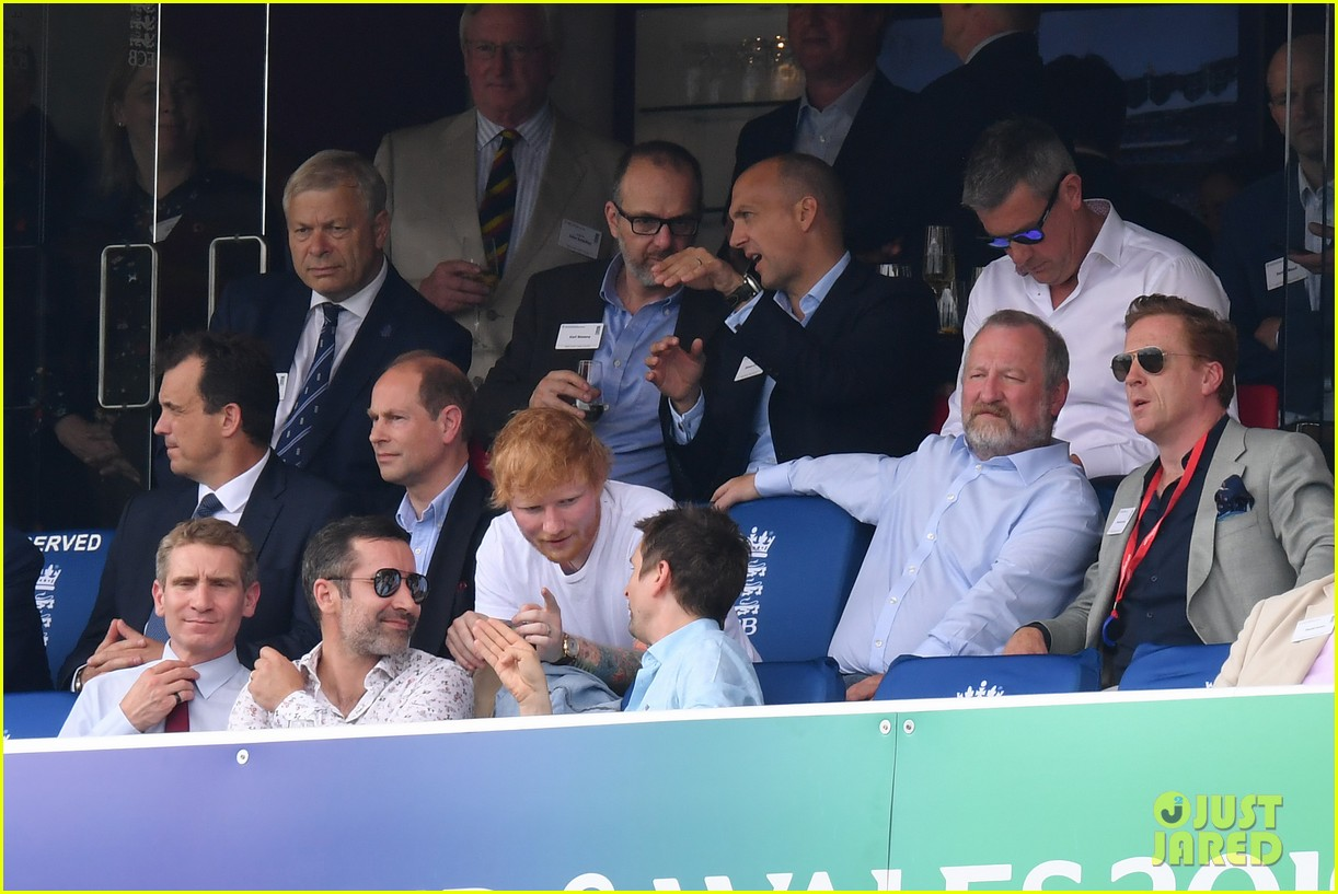 ed sheeran football match dad prince edward pics 08