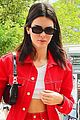 kendall jenner rocks all red for lunch in nyc 05