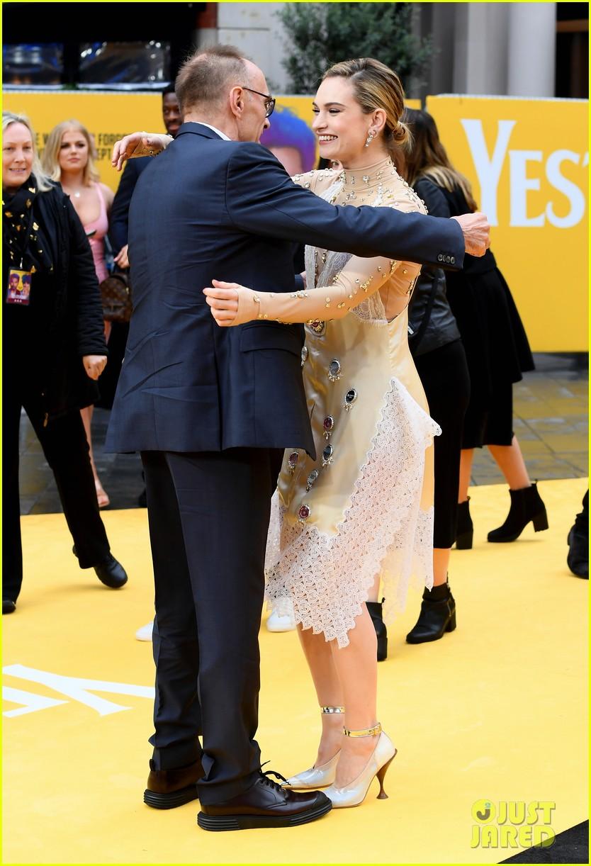 lily james ed sheeran himesh patel more yesterday london premiere 28