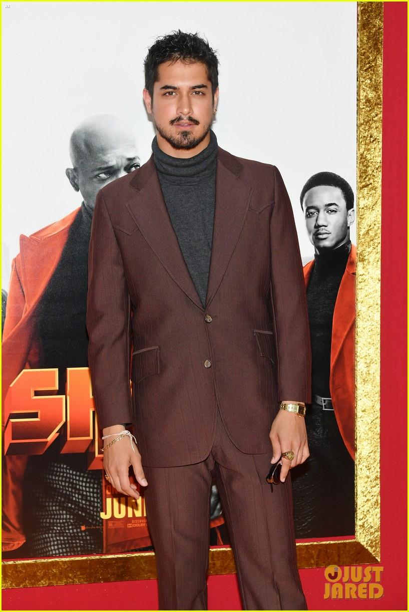 alexandra shipp avan jogia premiere new movie shaft 02