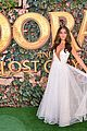 isabela moner jeff wahlberg team up at dora and the lost city of gold premiere 11