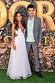 isabela moner jeff wahlberg team up at dora and the lost city of gold premiere 25