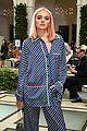 charlotte lawrence debuts pink hair at nyfw 11