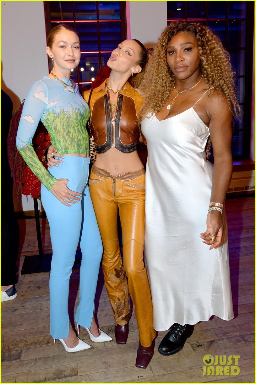 bella gigi hadid youtube fashion event nyfw 17